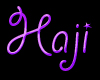 ~Abdu~ Haji Head Sign