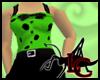 50s Tank Dress Green
