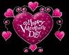 (V) Valentine Heart Pink