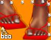 AB- Trendy Red Heels
