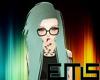 eEms* Jen Aqua Hair