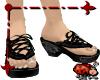Babouche Sandals- Black