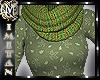 (MI) Fall Green Top