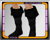 ∞ Black Leather Boots