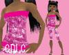 C.D.L.C PinkScratchezTop