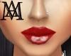 *Glossy Lipstick/Red*