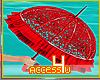 ! Red Love Umbrella