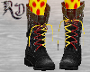 Black Combats Red/Yellow