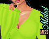 ! Bell Sleeve Lime