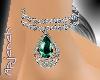 [apj] anklet emerald dro