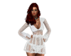 KSMR PARTY DRESS WHITE
