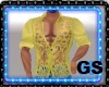 """GS"" MUSCLE SHIRT YELLOW"