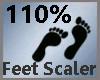 Feet Scaler 110% M