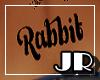 {JR} Rabbit Tattoo