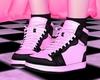 P! Sneakers Black White