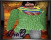 DQ WinterSweaterandScarf