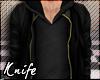 ♆ Hoody+Leather Jacket