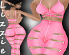 *L* Zipper in Pink RLL