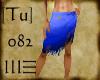 [Tu] Island Skirt Blue