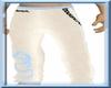{D}white bench pants