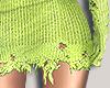 I│Knit Skirt RL Lime