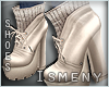 [Is] Boots Beige Pearl