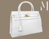 White Designer Purse