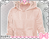 ☾ Pink Hoodie Kids