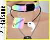 ~P; Pastel Prin.Collar