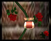 Wall Candle/Rose Sc CRDC