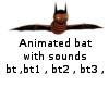 Animated bat