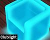 Teal LED Chair