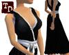 {TD} Samurai drape dress