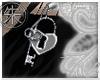 }T{Heart Lock Fae pierci