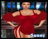 *SW*(Artsy)Red Fur Shawl