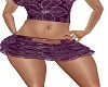 purple lace mini
