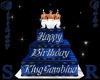 MrKingGambino Bday Cake
