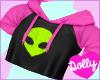 alien top pink