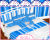 BB.Toddle Bed Boys Blue
