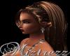 !Miz Black Rose Earrings