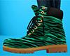 Tiger Stripe Work Boot F