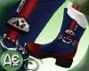 ~Ae~Boots W.Socks N.Blue