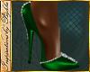 I~Diamond Pumps*Green