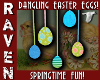 DANGLING EASTER EGGS!