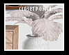 Ostrich Feathers + Vase