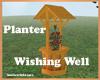 planter wishing well