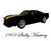 ~CA~Black Mustang