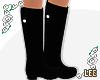 ! Black Rain Boots