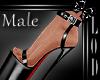 !! Male Black Platform
