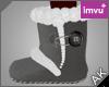 ~AK~ Winter Boots: Gray